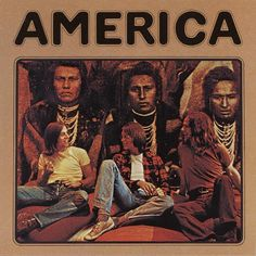 USED VINYL RECORD 12 inch 33 rpm vinyl LP Released in 1971, America is the eponymous debut album by America. Warner Brothers Records (BS 2576) Side 1: Riverside Sandman Three Roses Children A Horse Wi