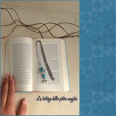 Segnalibro angelo - Segnalibro con pietre dure - Segnalibro in metallo - Accessori libri - Handmade - Creazioni artigianali di AnnieGioielli su Etsy