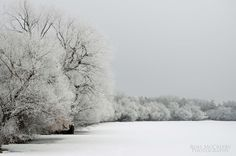 A frosty morning on Wascana Lake, Regina,SK