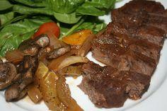 Crock Pot Peppercorn Steak