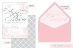Bridal Shower Invitation. $3.15, via Etsy.