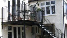 steel platforms balconies