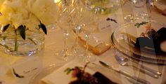 w.collaboration.com Wedding Events, Wedding Ideas, Weddings, Collaboration, Table Settings, Table Decorations, Crystals, Home Decor, Decoration Home