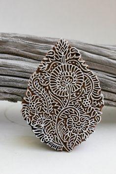 TATAindianwoodstamps on etsy - beautiful pieces!