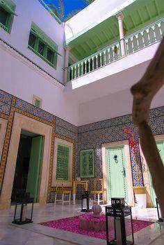 Dar Antonia, une maison d'hôtes au style arabo-andalous, dans la vieille ville de Sousse