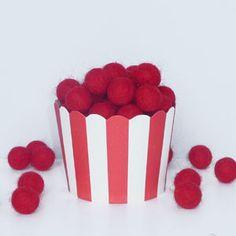 EN CUISINE > cupcakes > 25 caissettes rouges : My Little day