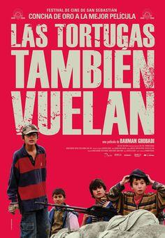 """""""Lakposhtha hâm parvaz mikonand / Turtles can fly"""", Iran, 2006. Director: Bahman Ghobadi.  Tema: L'escolarització als països en guerra."""