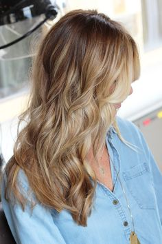 """Bronde"". I've never heard Of this but it is totally my hair color! Too dark to be blonde and too light to be brown."