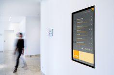 Digital Signage at BASF recreation center