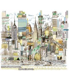 """Urban planning a growing New York. """"How Many People Can Manhattan Hold?"""" nyti.ms/AuCB7e"""