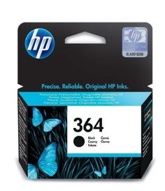 Original Genuine HP 364 Black Ink Cartridges for Photosmart 5510 Printer