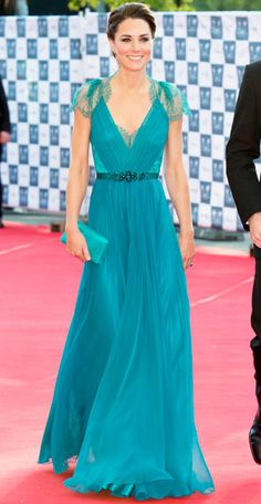 Catherine Middleton - 12 Prettiest Dresses of 2012 - Best of 2012 - Celebrity - InStyle.com
