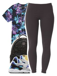 """""""April.27.2K15"""" by khiidamy4502 ❤ liked on Polyvore featuring PacSun, MCM, Organix, Versus, NIKE and Joe Browns"""