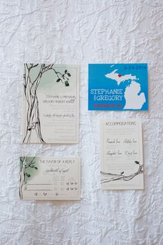 invites and save the dates!