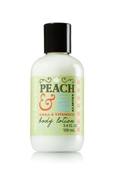 Peach & Honey Almond Travel Size Body Lotion - Signature Collection - Bath & Body Works