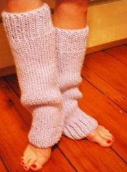 These leg warmers from Authentic Knitting Board will keep your legs toasty all winter long. This easy knit pattern uses a rib stitch and is for all skill levels.