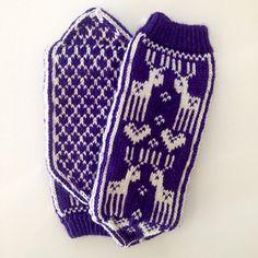 free pattern knitting / Russesokk med reinsdyr by Maria Simonsen / only in Norwegian
