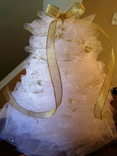 Busy Lizzy's: Tulle Christmas Tree