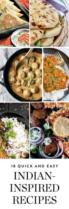 Discover 18 of our favorite easier-than-ordering Indian recipes. #recipes #indianrecipes #easyrecipes #dinners #dinnerrecipes #indiandinners