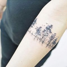 Scar Cover Forest Tattoo Tag 2 friends who needs to see this!
