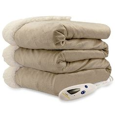 Shop for Pure Warmth by Biddeford Micro Mink Sherpa Heated Throw Blanket Taupe. Get free delivery On EVERYTHING* Overstock - Your Online Fashion Bedding Store! Electric Throw Blanket, Heated Throw Blanket, Most Comfortable Sheets, Online Bedding Stores, Affordable Bedding, Fashion Room, Mink, Summer Time