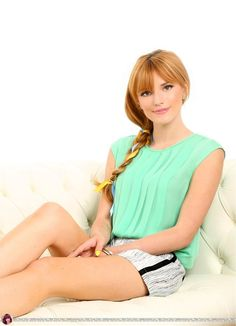 Bella Thorne  I love that mint color on her. She's  so pretty!!