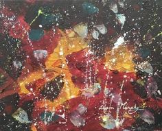 Original Abstract Painting by Liam Murphy Abstract Styles, Abstract Art, Oil On Canvas, Canvas Art, Original Paintings, Original Art, International Artist, Abstract Expressionism, Cosmic