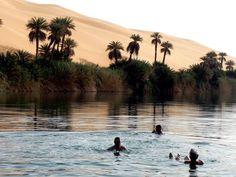 Gaberoun Oasis, Desert Trip, Libya