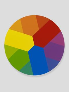 This is a painting by Damien Hirst. Concept and simplicity equals beauty. Just my opinion. Color Art Lessons, Tertiary Color, Simple Wall Art, Teaching Colors, Damien Hirst, Color Psychology, Geek Art, Art Classroom, Color Theory