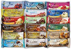 Quest Nutrition Bar Variety Bundle fumgah 18 Bar Variety Pack * Check out the image by visiting the link.