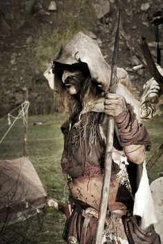 Snaga: One Tribe - Maudhul 1/2 on Behance  Orc uruki Larp Cosplay