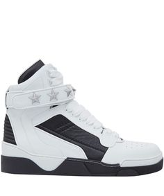 Givenchy White Tyson High Top Leather Trainers   Men's Shoes   Liberty.co.uk