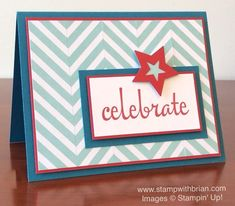 Fabulous Four, Medium Star punch, Stampin' Up!, Brian King, PP249