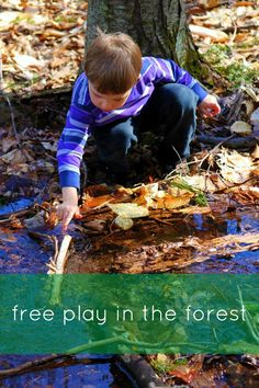 Free play outside is essential to a child's growth and development! Learn more about it here!