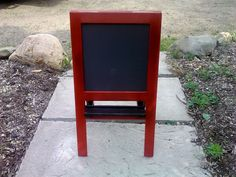 Child's Two Sided Blackboard Easel