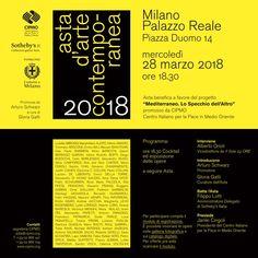 Sotheby's: Mediterraneo. Lo Specchio dell'Altro, Palazzo Reale, 28/03/2018, ore 18.30