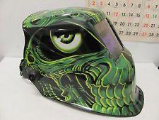 Solar Powered Auto darkening Welding Helmet Mask