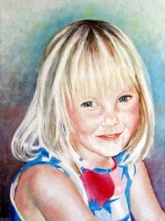 Custom portrait painting from your own photo £65.00