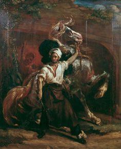Géricault, Enseigne de maréchal-ferrant, vers 1813