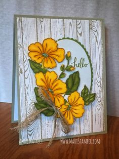 Maui Stamper Stampin' Up! Color Your Season August 2018 ONLY Today is your last chance to add Blended Seasons to your crafting stash! These gorgeous flowers officially retire at pm HST tonight, and Stampin' Up! Paper Cards, Diy Cards, Craft Cards, Stamping Up Cards, Cards For Friends, Fall Cards, Pretty Cards, Card Sketches, Sympathy Cards