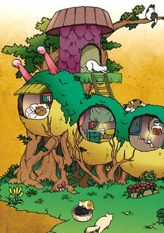 猫のイモムシハウス Comic Books, Comics, Cartoons, Cartoons, Comic, Comic Book, Comics And Cartoons, Graphic Novels, Graphic Novels