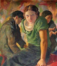 František Kupka - Woman, Oil on canvas