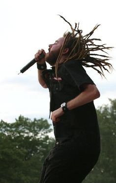 In Flames front man anders.  first and forever in my heart