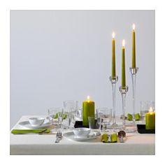 OFTA Kerze, duftneutral, grün - IKEA
