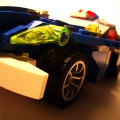 Blue and white color Lego Police Car, Blue And White, Color, Colour, Colors