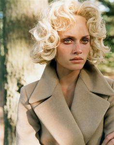 Amber Valletta by Steven Meisel, Vogue Italia, September 1995