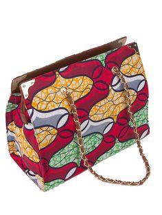 African Wax Print Handbag For Women Africanpremier