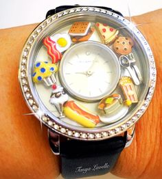 Origami Owl ~ Food Lover Watch. So cute!