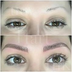 63 Trendy Eye Brown Microblading Eyebrow Tattoo in 2020 Eyebrows Sketch, Mircoblading Eyebrows, Eyelashes, Eyeliner, Eye Brows, Makeup Tips, Beauty Makeup, Eye Makeup, Eye Shadow Application