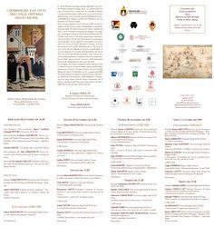 """convegno internazionale """"I DOMENICANI NELLE CITTA' DELL'ITALIA CENTRALE (SECC. XIII-XIX)"""" Firenze 28 settembre - 1 ottobre 2016"""